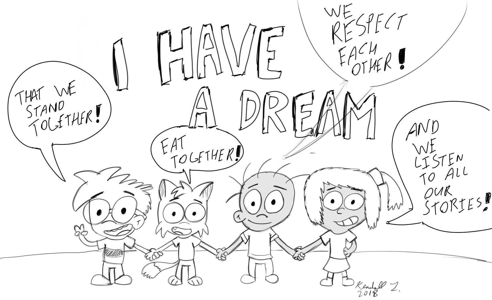 i have a dream art